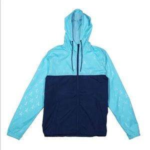 Blue blood star windbreaker
